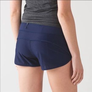 lululemon mesh speed shorts